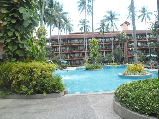 Patong Merlin Hotel : pool area
