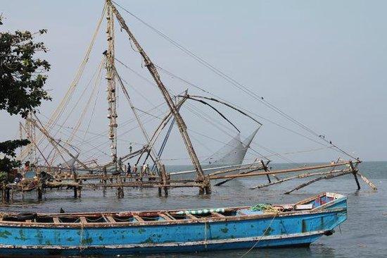 Wright Inn: chinese fish nets