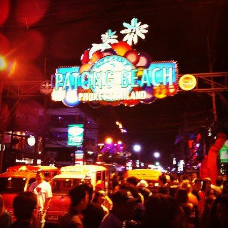 Bangla Road: De locos!!! 31 de diciembre 2013