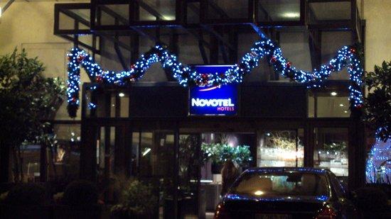 Novotel Paris Les Halles: Hotel Entrance