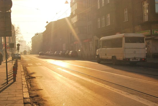 Hotel Kazimierz II: View of the street in front of the hotel