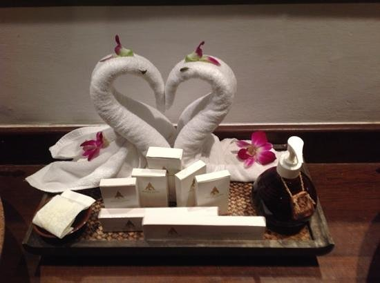 Royal Muang Samui Villas: the staff are very clever wow!