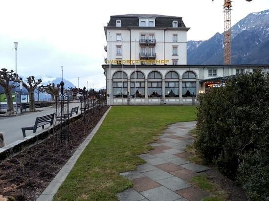 Seehotel Waldstätterhof Brunnen: the hotel