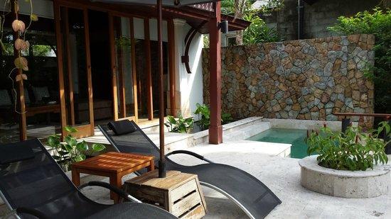 Nakamanda Resort & Spa: Jacuzzi villa terrace and jacuzzi