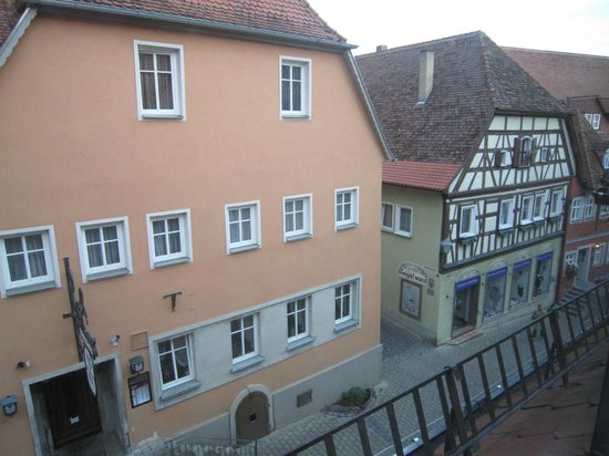 Arvena Reichsstadt Hotel: 部屋からの眺め