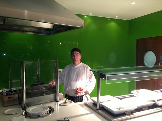 Holiday Inn London Bloomsbury: super kitchen staff