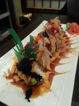 Sushi Oyama: Black Dragon roll