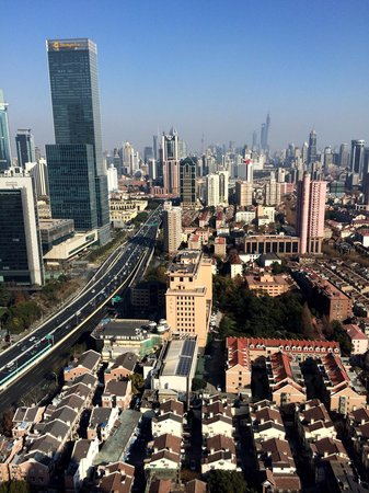 Hilton Shanghai: View from 38 floor