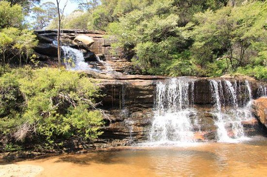 Wentworth Falls: One of the waterfalls