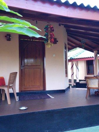 Richard's Cabanas: L'ingresso della nostra stanza