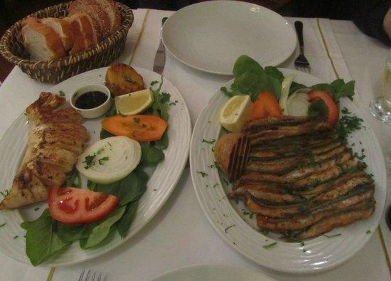 Sultanahmet Fish House : Calamari and anchovies