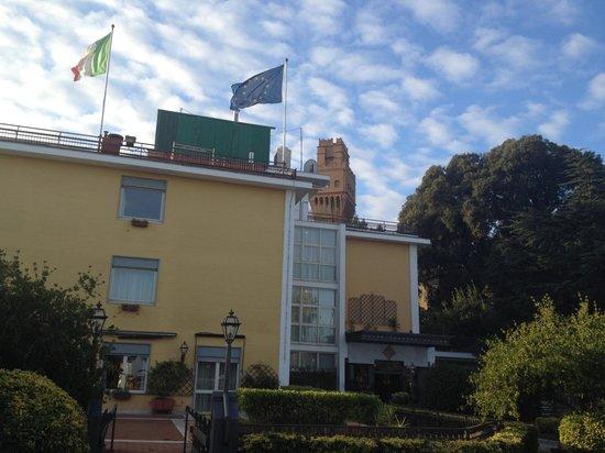 Culture Hotel Villa Capodimonte: Hotel esternamente