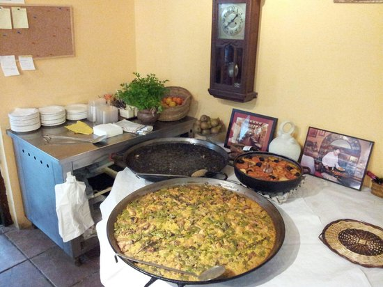 El Forcat : Paella valenciana
