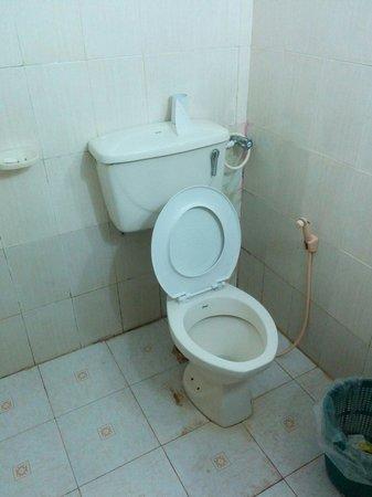 Shehan Guest House : Dopo le nostre insistenza di cambiare almeno la tavoletta...