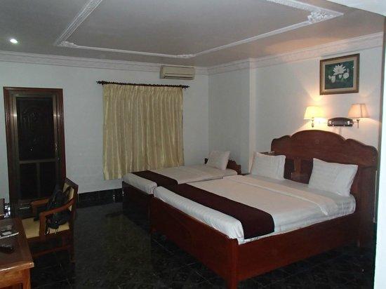 Alliance Villa: La chambre
