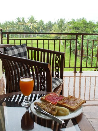 Bali Suksma Villa : breakfast