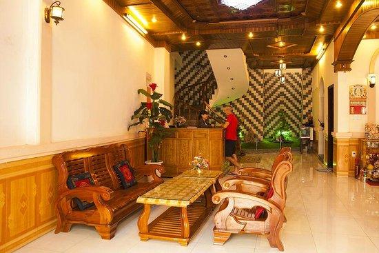 Homestay Hoa Mau Don: RECEPTION
