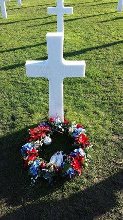 Monumento y Cementerio Estadounidense de Normandía: décembre 2013
