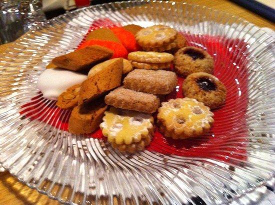 Gran Baita Sport & Wellness Hotel: Biscotti di chef Andrea!!!