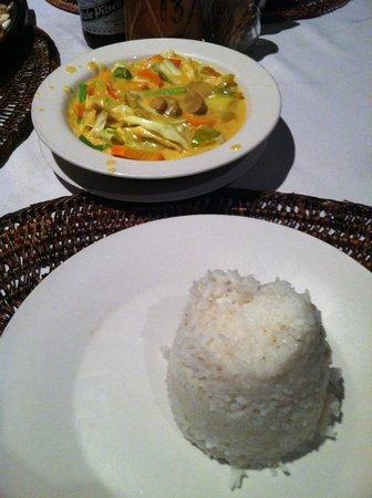 Seadive : Veg curry