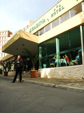 Gradina Hotel: Hotel Gradina, Złote Piaski 20.09.2013