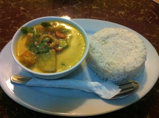 Brujita Bar and Restaurant : Vegetable curry