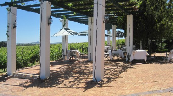 Avontuur Wine Estate: Terrasse Restaurant