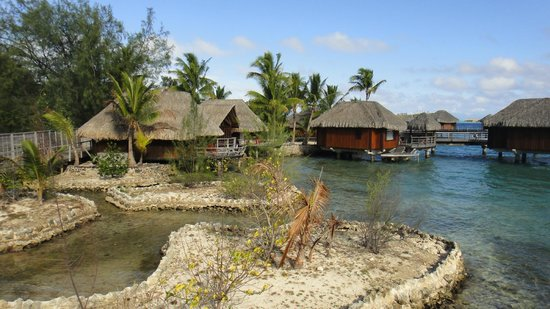 Sofitel Bora Bora Marara Beach Resort: на территории