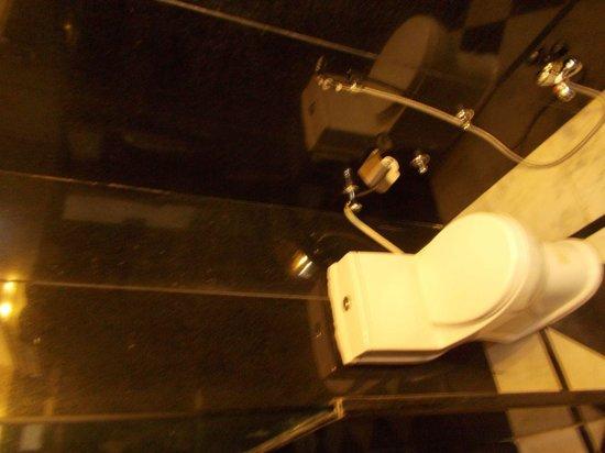 Hotel Bharat Villas : toilette