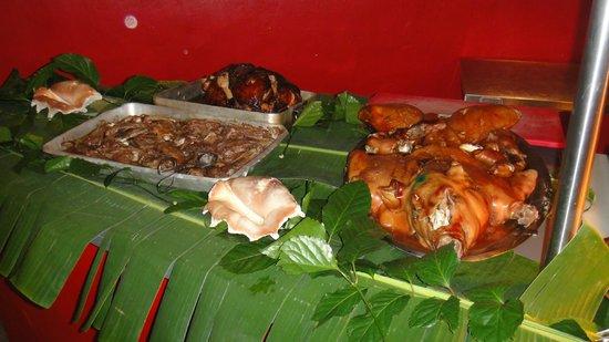 Sofitel Bora Bora Marara Beach Resort: ужин