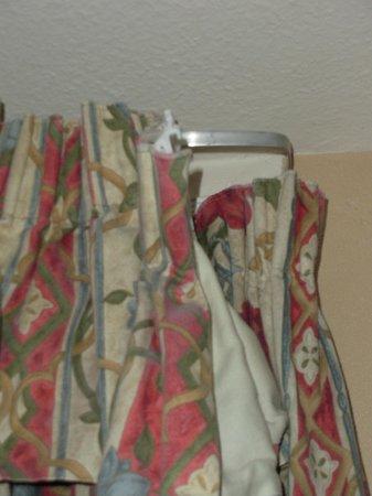 Elmbank Hotel: shower curtain