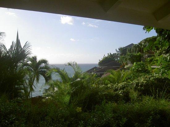La Toubana Hotel & Spa: Vue de la terrasse du bungalow