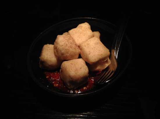 Spice Temple: Spicy tofu starter (yummy!!!!)