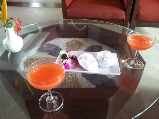 Novotel Samui Resort Chaweng Beach Kandaburi: Welcome Drink