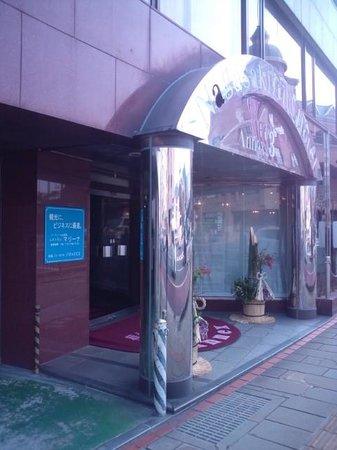 Nagasaki City Hotel Annex 3 : ホテル玄関