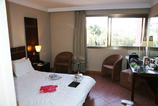 Hotel Kenzi Farah : notre chambre