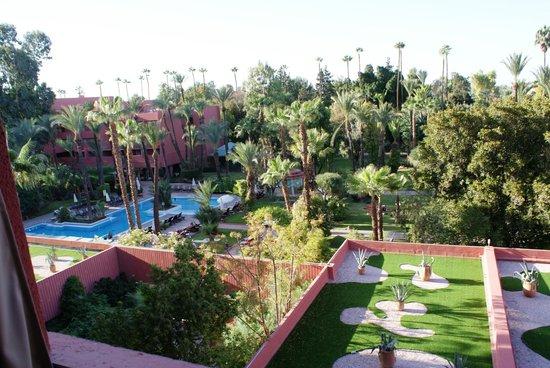 Hotel Kenzi Farah : vue de notre chambre