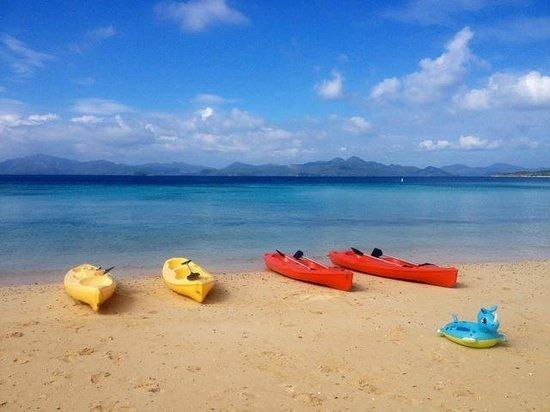 Two Seasons Coron Island Resort & Spa: Free kayaks! Lots of fun and a great mini workout.