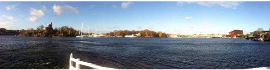 Hotel Skeppsholmen: view from hotel