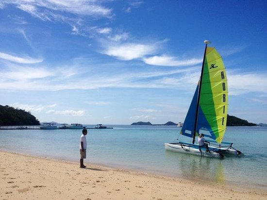 Two Seasons Coron Island Resort & Spa: Go sailing!