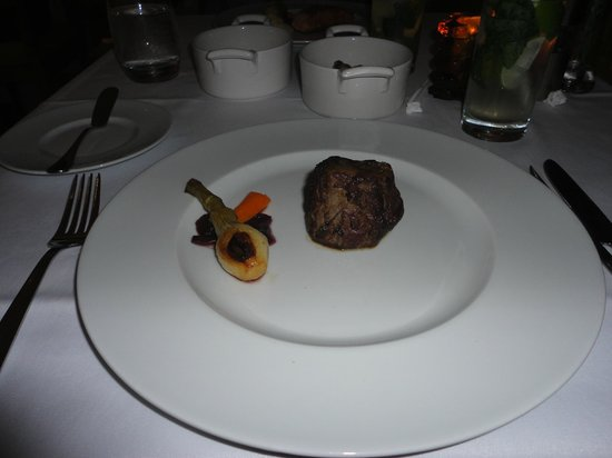 Secrets The Vine Cancun: Fillet steak at the Bluewater