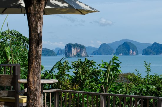 Koh Yao Noi, Tailandia: View from Villa 27