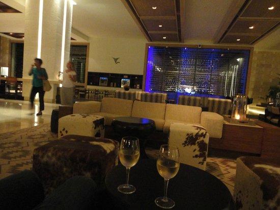 Secrets The Vine Cancun: Wine in the lobby