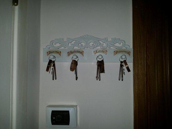 B&B Le Stagioni: Le chiavi