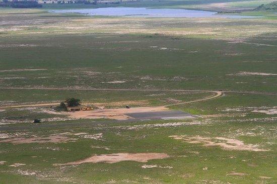 Tortilis Camp: Amboseli airstrip