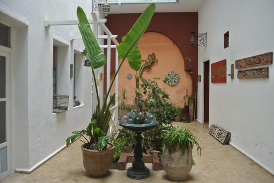 Riad Watier : Courtyard