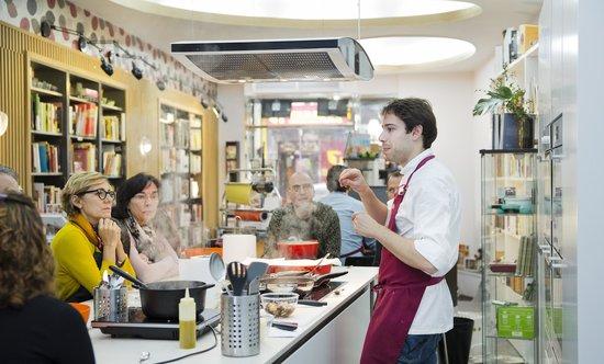 Cooking class fotograf a de escuela de cocina y cata a - Escuela de cocina ...