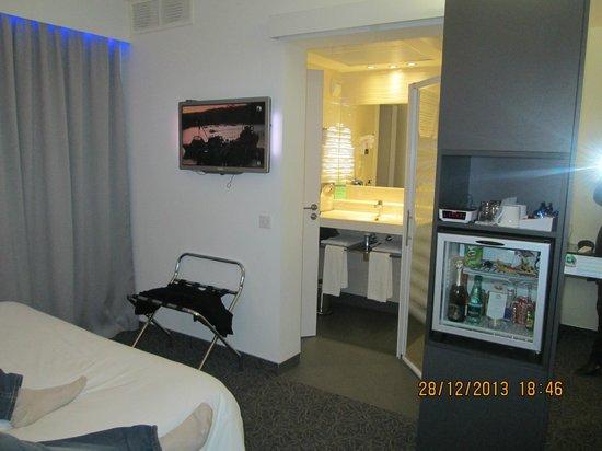 BEST WESTERN Eurociel: interieur chambre