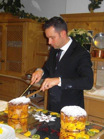 """Beverly Hotel: Il Maitre """"Marco Masè Calcagn"""""""