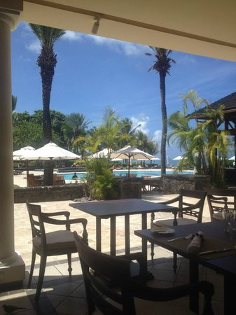 The Residence Mauritius: The Verandah Restaurant